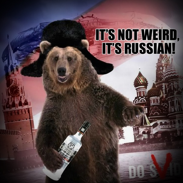 It's Not Weird, It's Russian!