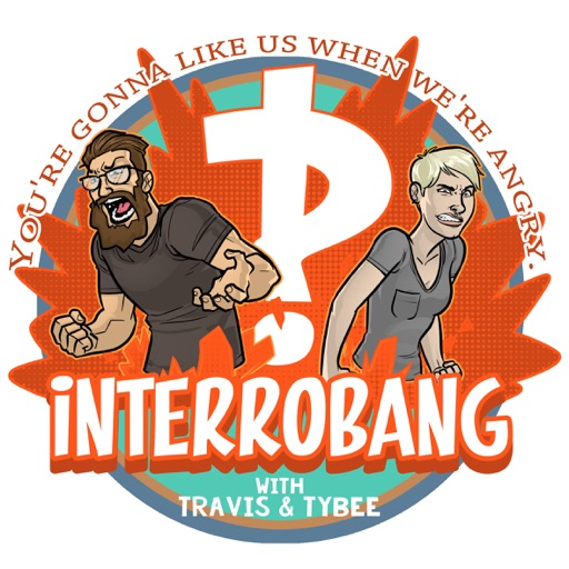 Cover image of Interrobang with Travis and Tybee