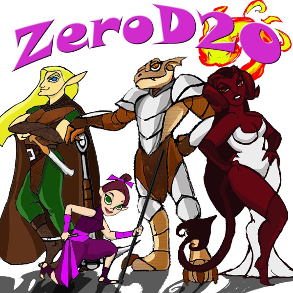 ZeroD20 Fracturia - Dungeons & Dragons 5E Actual Play