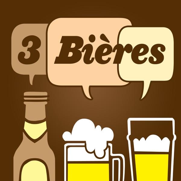 3 Bières » Le podcast québecois qui parle de VOS sujets le temps de 3 Bières! banner backdrop