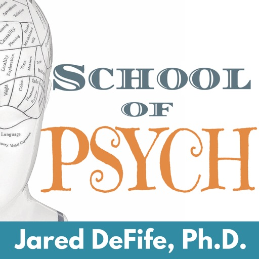 Cover image of School of Psych | Insightful interviews and stories about psychology, culture, and relationships.