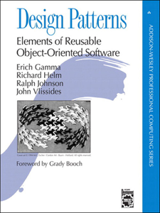 Design Patterns: Elements of Reusable Object-Oriented Software Book Cover