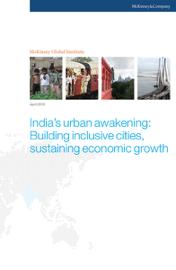 India's urban awakening: Building inclusive cities, sustaining economic growth book
