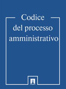 Codice del processo amministrativo Libro Cover