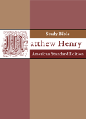 Matthew Henry Study Bible with ASV