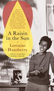 A Raisin in the Sun by Lorraine Hansberry Book Cover