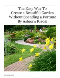 Easy Garden Design book