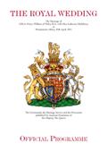 The Royal Wedding - Official Souvenir Programme