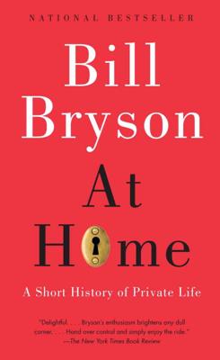 At Home - Bill Bryson book