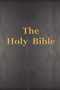The Holy Bible Cover Book