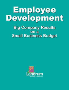 Employee Development: Big Business Results on a Small Business Budget Book Review