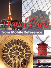 Paris, France: Illustrated Travel Guide, Phrasebook & Maps (Mobi Travel)