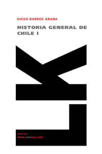 Historia general de Chile I Book Cover