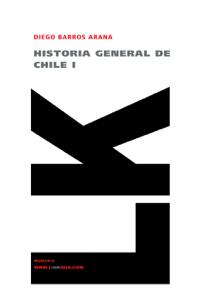 Historia general de Chile I Book Cover