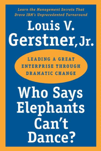 Who Says Elephants Can't Dance? La couverture du livre martien