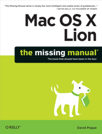 Mac OS X Lion: The Missing Manual book