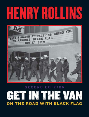 Get in the Van - Henry Rollins book