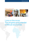 Lions on the move: The progress and poten...
