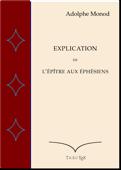 Explication de l'Epître aux Éphésiens