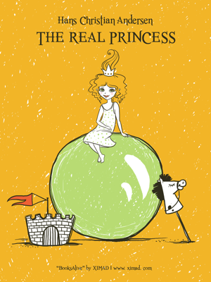The Real Princess - Hans Christian Andersen book
