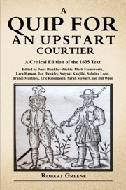Quip for an Upstart Courtier PDF Download