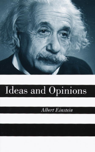 Ideas And Opinions Libro Cover