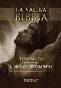 La Sacra Bibbia Diodati Copertina del libro