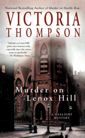 Murder on Lenox Hill book