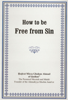 Mirza Ghulam Ahmad - How to be Free from Sin artwork