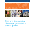 Debt and deleveraging: Uneven progress on the path to growth