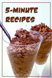 5-Minute Recipes book