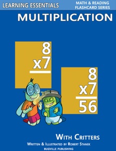 Multiplication Flash Cards: Multiplication Facts with Critters