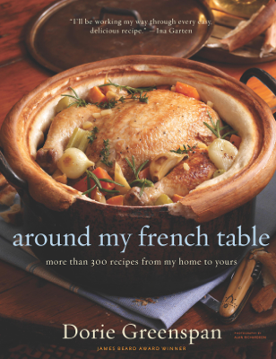 Around My French Table - Dorie Greenspan book