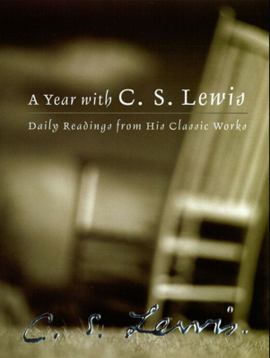 A Year with C. S. Lewis - C. S. Lewis book