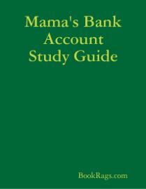 Mama's Bank Account Study Guide