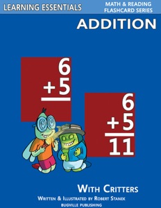 Addition Flash Cards: Addition Facts with Critters