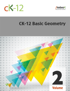 CK-12 Basic Geometry, Volume 2 of 2 Book Review