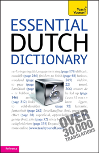 Essential Dutch Dictionary: Teach Yourself Boekomslag