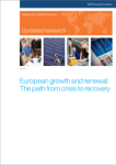 Updated Research: European Growth and Renewal: The Path from Crisis to Recovery