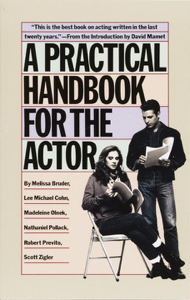 A Practical Handbook for the Actor Book Cover