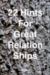 22 Skills For Great Relationships
