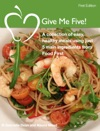 Give Me Five Recipe Book