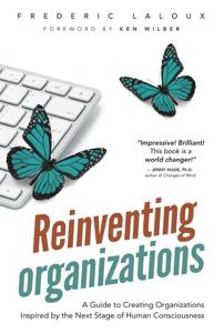 Reinventing Organizations Copertina del libro