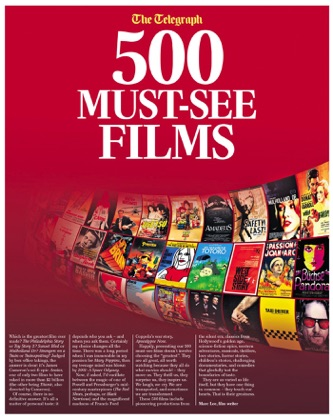500 Must See Films book cover