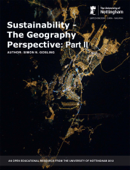 Sustainability - The Geography Perspective: Part II