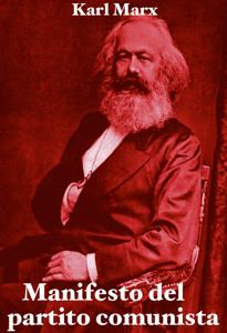 Manifesto del partito comunista Libro Cover