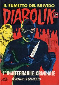 Diabolik #2 Copertina del libro