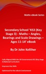 Secondary School KS3 Key Stage 3 - Maths  Angles Bearings And Scale Drawings  Ages 11-14 EBook