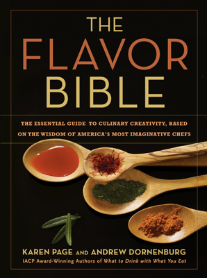 The Flavor Bible - Karen Page & Andrew Dornenburg book