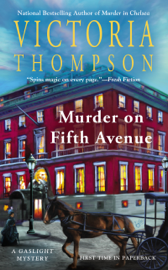 Murder on Fifth Avenue book